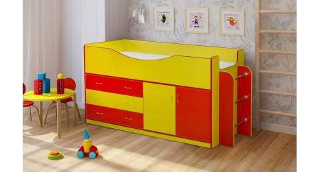 Детская кровать Радуга 6