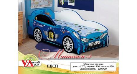 Детская кровать Машинка 3