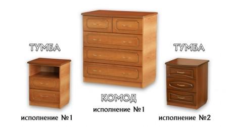 Шкафы, комоды, тумбы для спальни