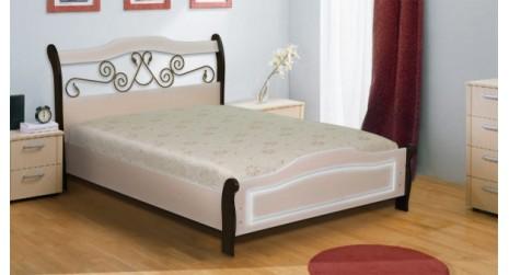 Кровать МДФ МК-14