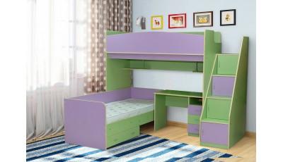 Детская кровать Радуга 4