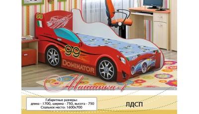 Детская кровать Машинка 4